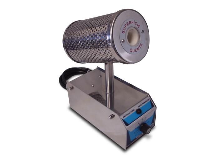 Esterilizador Infravermelho (Incinerador) para alças, pinças, agulhas, tesouras , espátulas e pipetas.